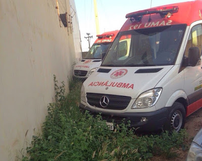 Com ambulância devolvida, SJE não terá base avançada do SAMU, pelo menos não por enquanto