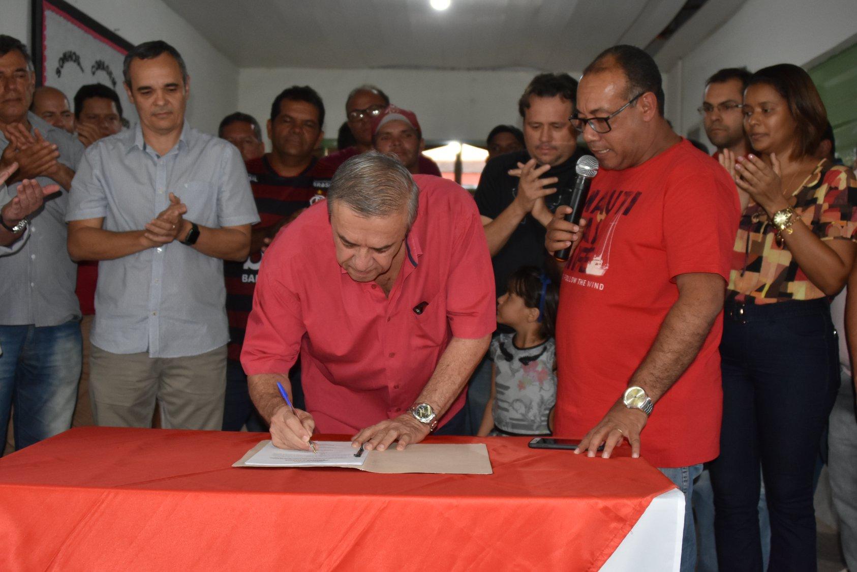 Escola Luís Paulino em SJE, será requalificada e ganhará até quadra coberta