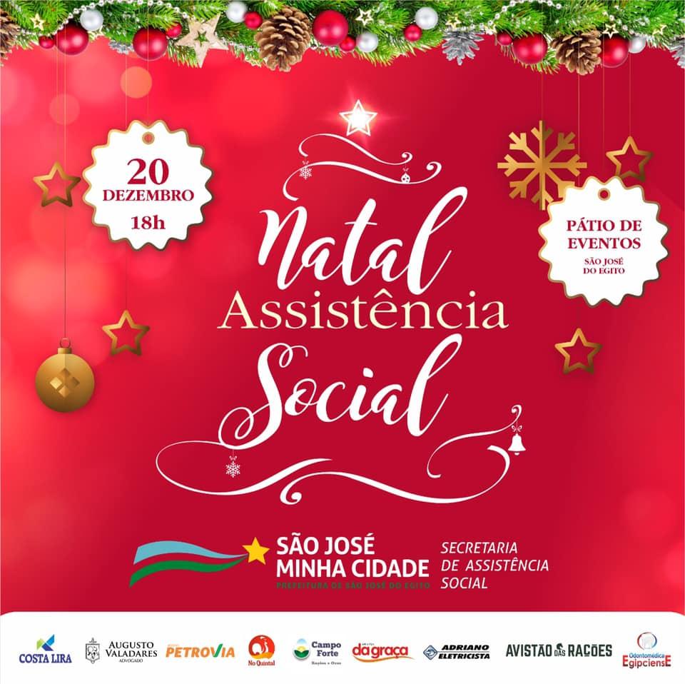 Prefeitura de SJE vai realizar festa de Natal para população