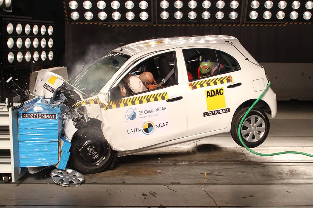 March e Mob, os dois carros menos seguros fabricados no Brasil, pelo menos é o que diz o Latin NCAP
