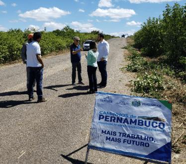 Secretária de Infraestrutura diz que estrada Tabira Água Branca vai ser feita, mais não deu prazo
