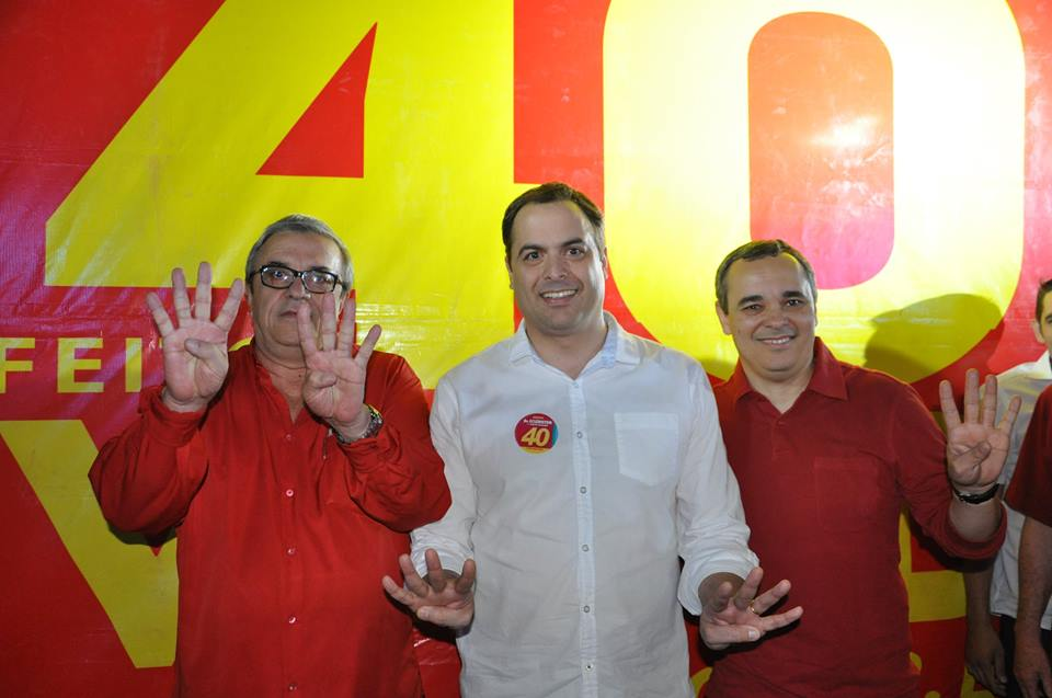 Prefeito de SJE Evandro Valadares confirma que vai para reeleição com Eclériston Ramos