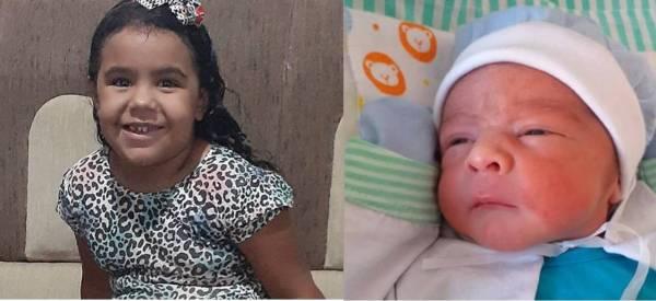 Duas crianças morreram no fim de semana em função de acidentes automobilísticos na região do Pajeú