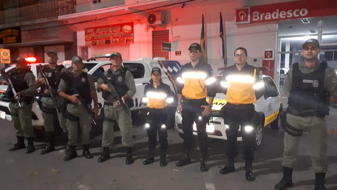 Polícia Militar e SETRANS realizaram operação impacto integrado em SJE