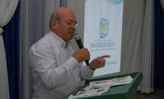 Ex-prefeito de São José do Egito deixa PT e deve ir para O Progressistas