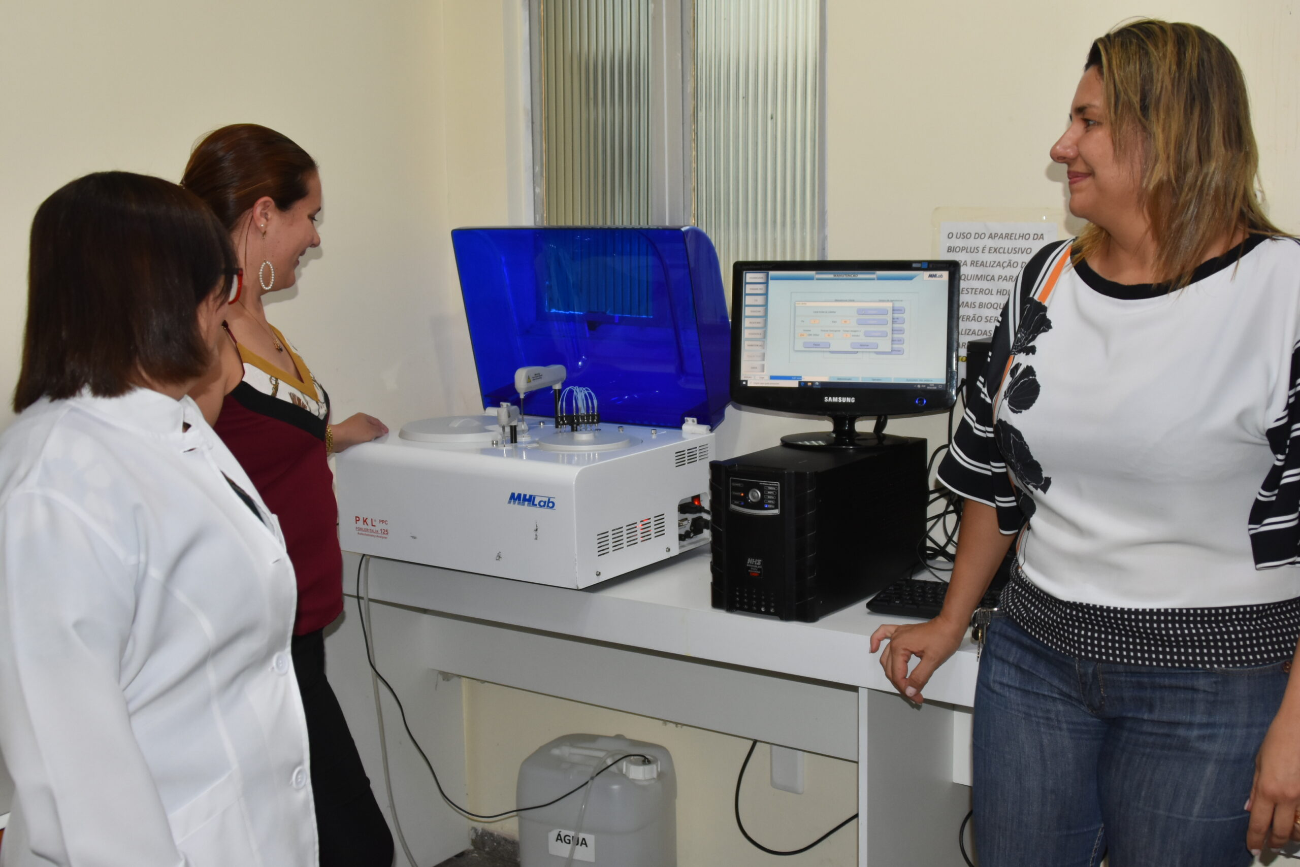 Chega novo equipamento no Hospital Maria Rafael de Siqueira em SJE