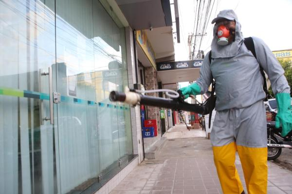 Cidades do Pajeú começam a usar técnica de desinfecção de ruas