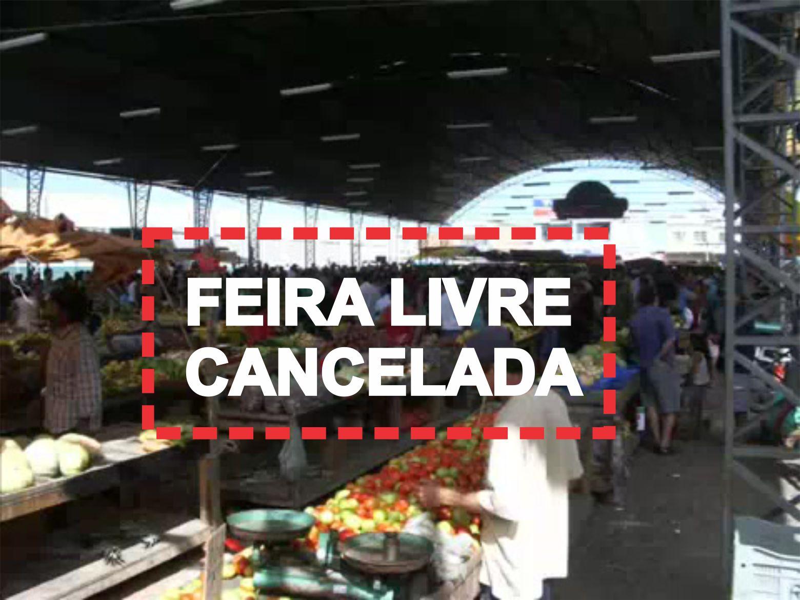 Prefeitura de SJE emite nota comunicando cancelamento da feira livre por 15 dias