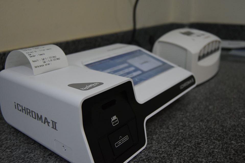 Em SJE dinheiro devolvido pela Câmara de Vereadores fez prefeitura comprar equipamento que ajuda na realização de exames, inclusive o que pode detectar o coronavirus