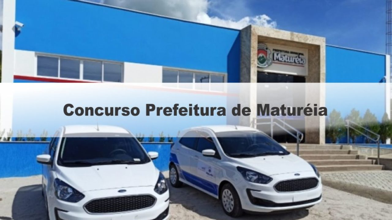 Concurso da prefeitura de Matureia, PB, encerra inscrições nesta sexta-feira (14)