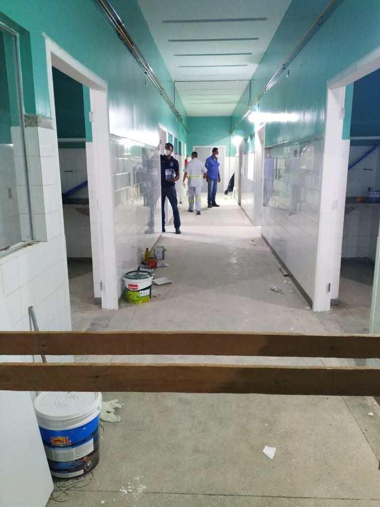 Tudo caminha para Hospital Regional Emília Câmara ter leitos de UTI disponíveis antes do previsto
