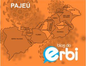 Região do Pajeú continua confirmando mais casos do que pessoas recuperadas da covid-19