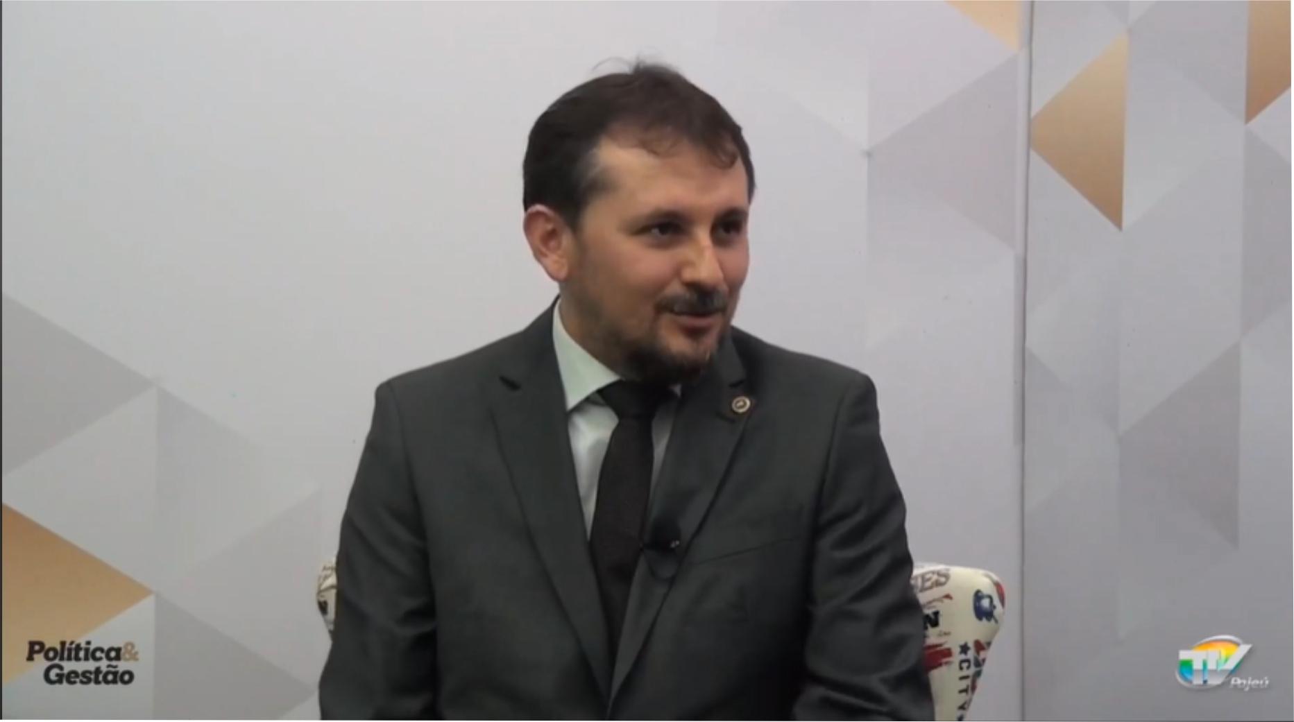 Promotor de justiça de SJE Aurinilton Leão diz que maior desafio das eleições será combate a fake news