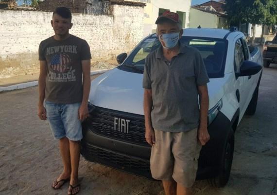 Na Ingazeira, um filho que vendeu tudo para ajudar pai com covid foi recompensado