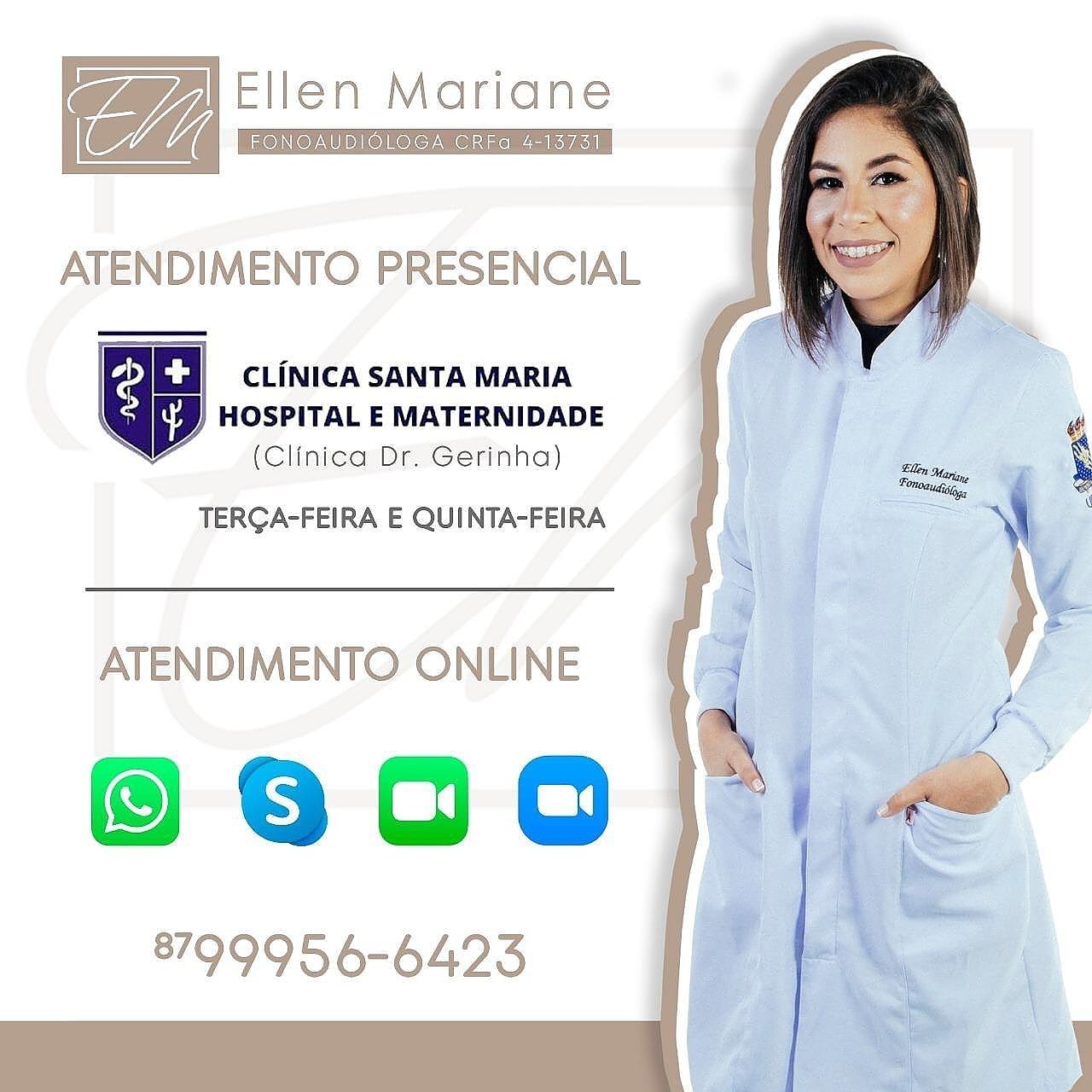 SJE e região agora tem o atendimento da fonoaudióloga Ellen Mariane