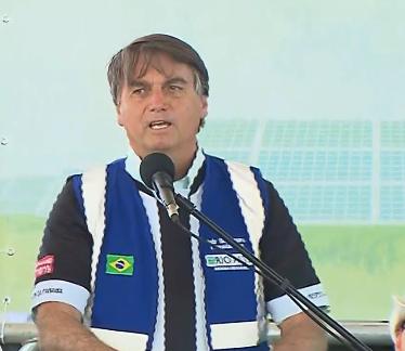 Bolsonaro diz que Brasil 'está de parabéns' pela forma como preserva o meio ambiente
