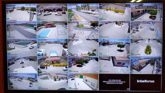Brejinho agora tem central de monitoramento com câmeras espalhadas por vários pontos da cidade