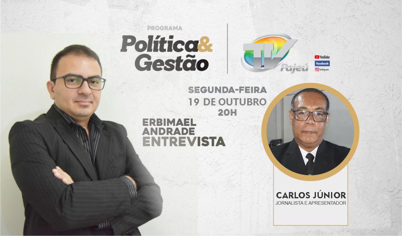 Próxima segunda nossa entrevista será com Carlos Jr.