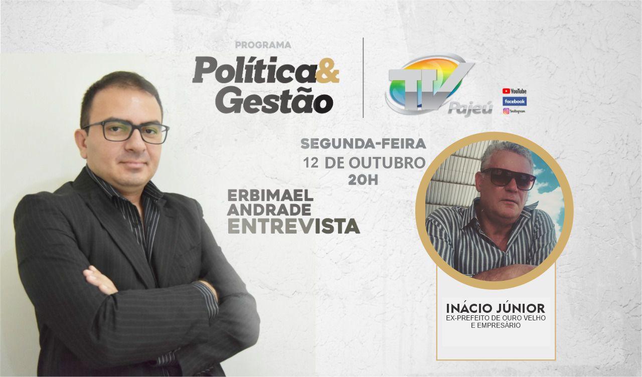 Programa Política e Gestão conversa com o ex-prefeito de Ouro Velho nesta segunda (12)
