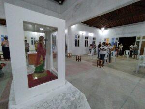 Capela de Santo Expedito recebeu imagem peregrina de São Judas Tadeu nesse sábado (17)