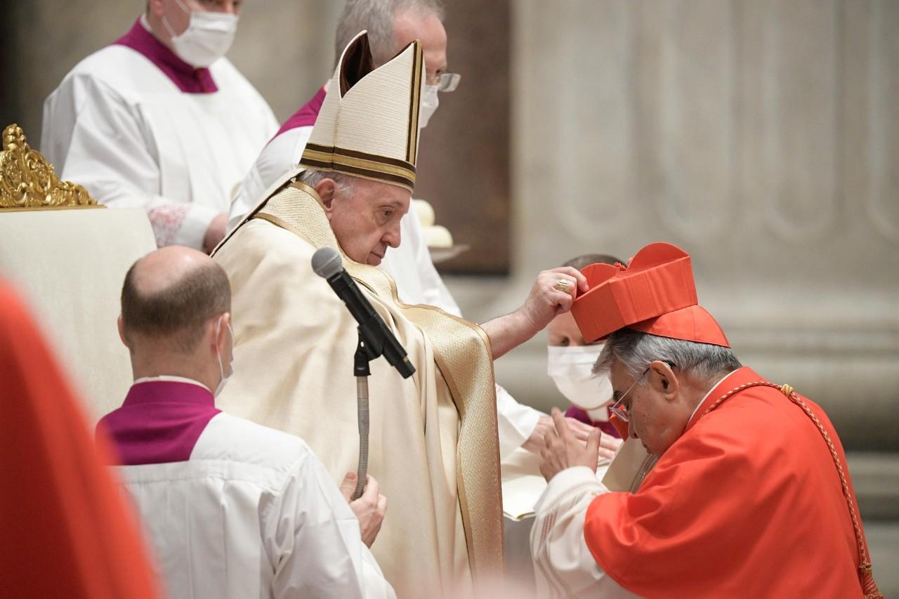 Papa Francisco nomeou 13 novos cardeais no sábado (28)