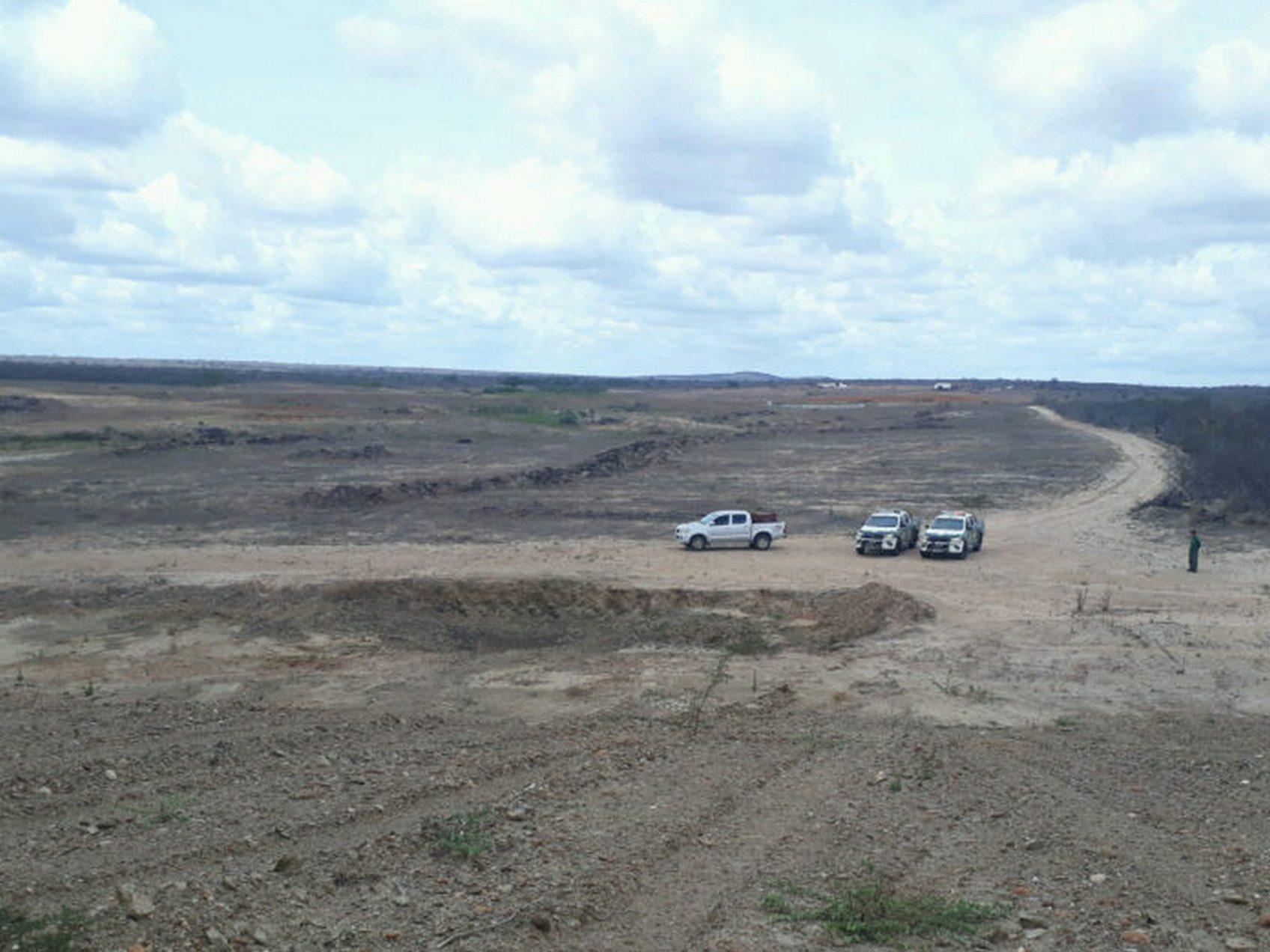 IBAMA detecta quase 300 hectares de área desmatada no cariri