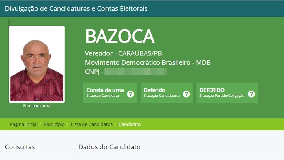 Vereador de Caraúbas morre de infarto durante apuração dos votos, no Agreste da PB