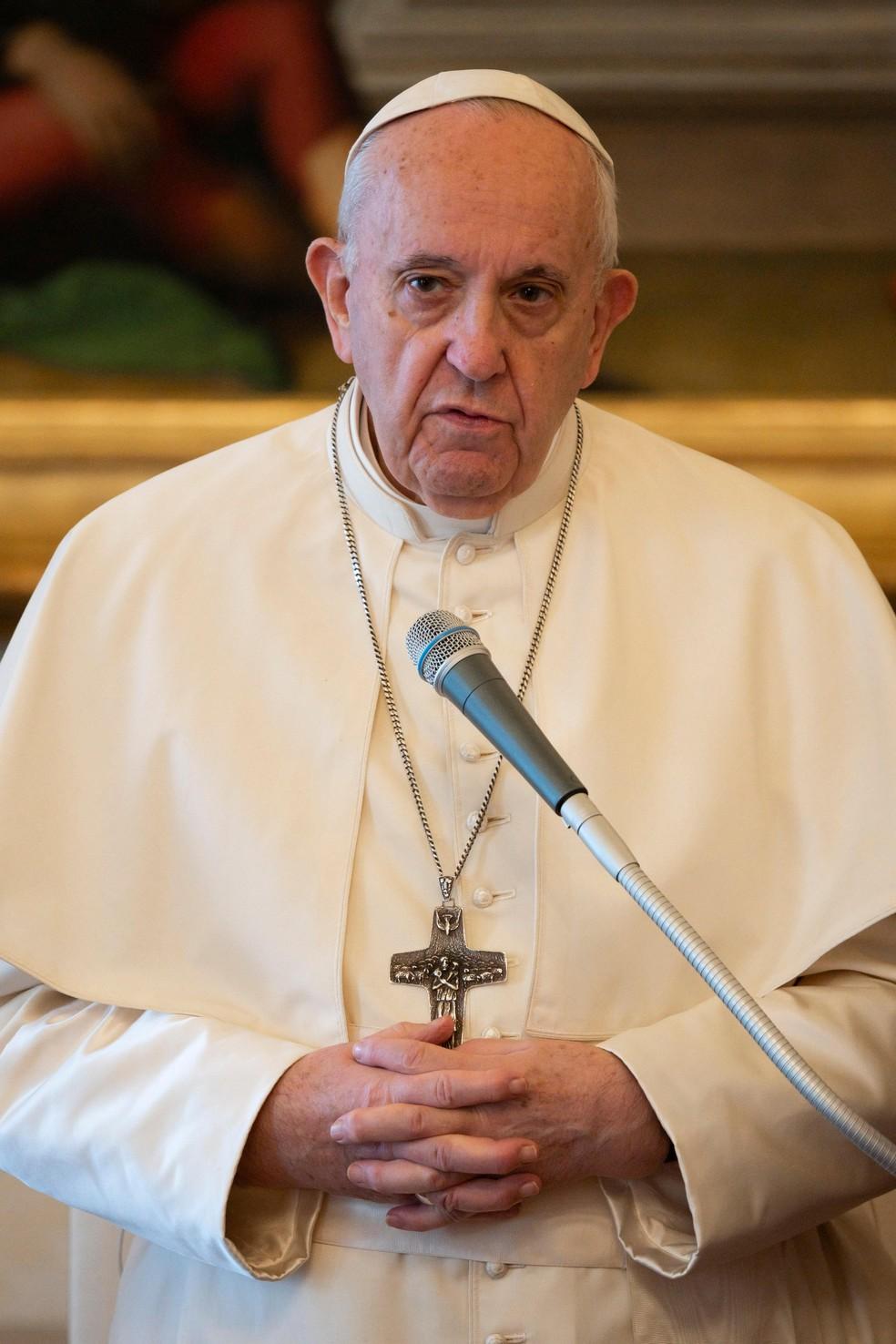 No Dia Mundial das Comunicações Sociais, papa agradece coragem de jornalistas