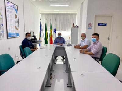 Prefeito de Brejinho teve encontro com superintendente da CODEVASF
