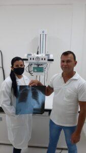 Prefeitura de Ouro Velho comemora realização do primeiro raio-X da história do município