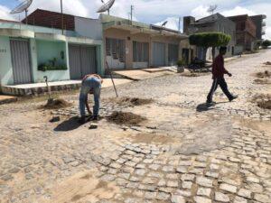 Operação Taba Buraco chega ao bairro Novo em SJE