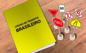 Começam a valer nesta segunda (12), as alterações no Código Brasileiro de Trânsito