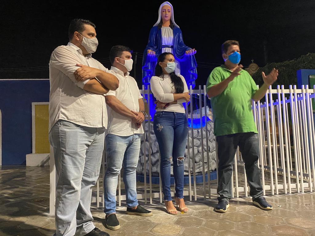 Ouro Velho ganha monumento de Nossa Senhora das Graças