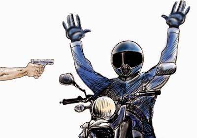 Criminalidade explode com roubo de motos quase que diariamente na região