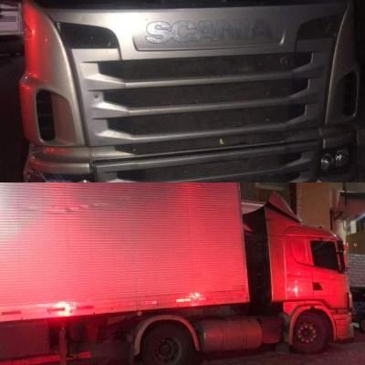 Caminhão roubado é recuperado pela Polícia Militar em Sumé