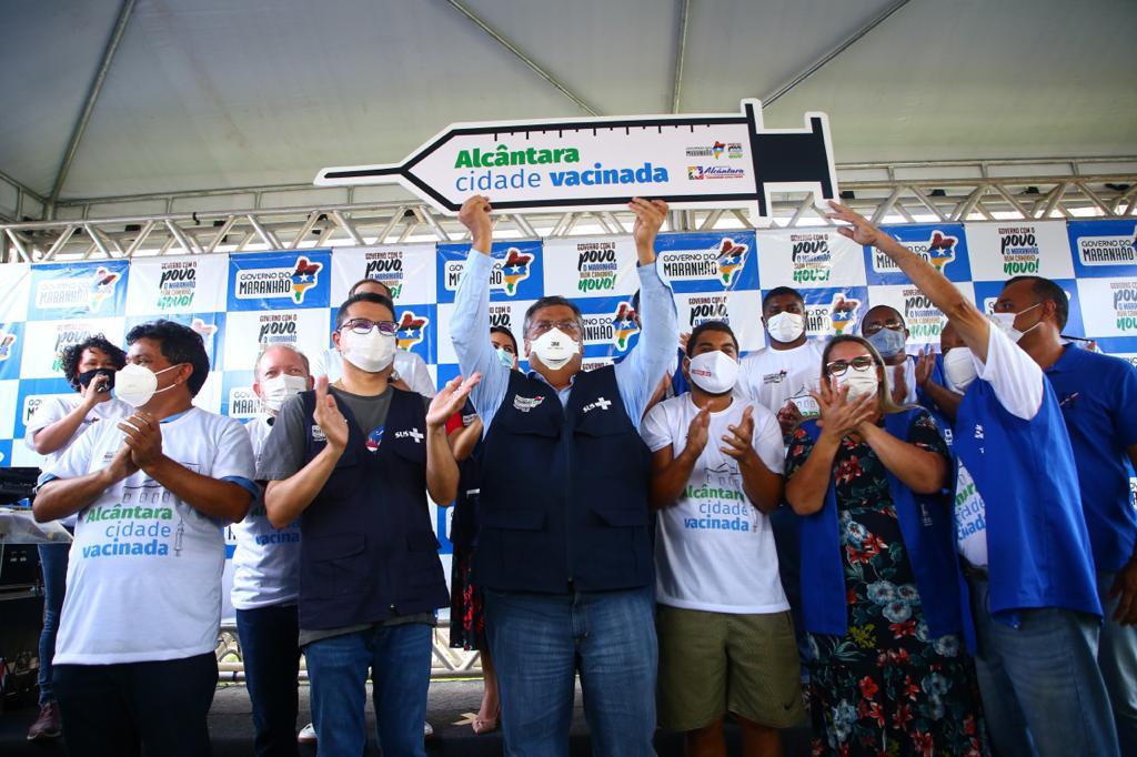 É do Maranhão a 1ª cidade brasileira 100% vacinada contra a covid-19