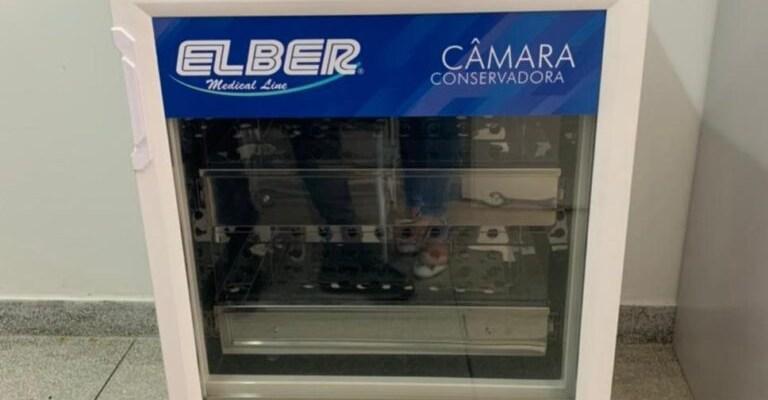 Prefeitura de Ouro Velho adquire câmara fria com capacidade para armazenar 8 mil doses de vacinas