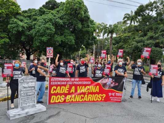 Bancários de Pernambuco suspendem paralisação que estava marcada para esta sexta-feira (18)