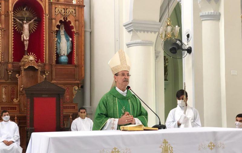 Dom Egídio diz que fechamento das igrejas é um chamado a responsabilidade
