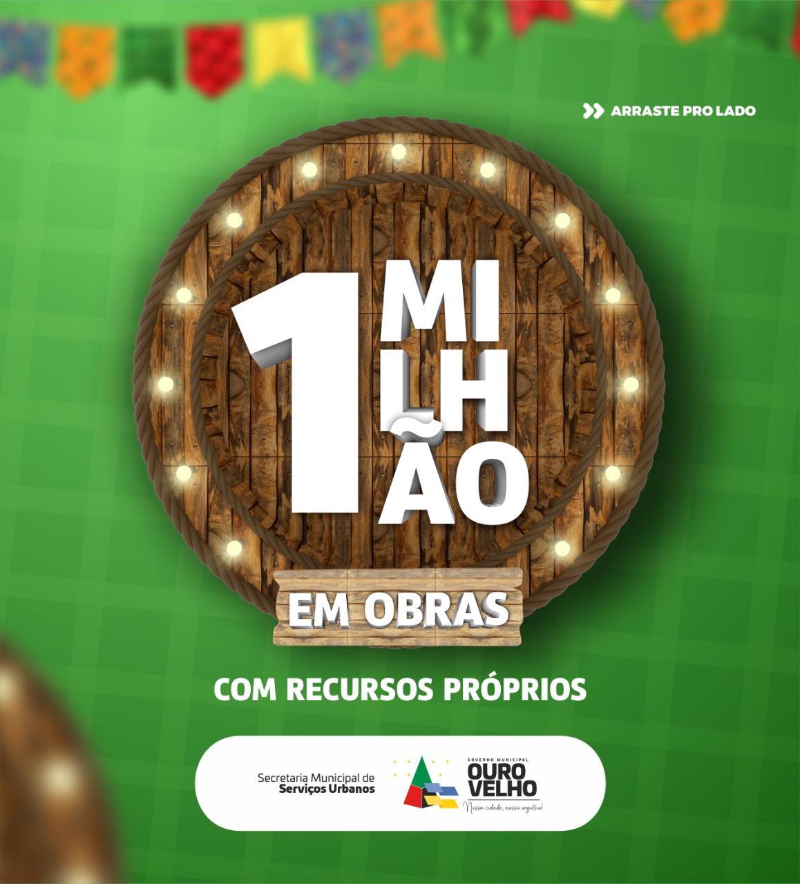 Em menos de 6 meses de gestão, prefeito Augusto Valadares lança pacote de obras que somam R$ 1 milhão