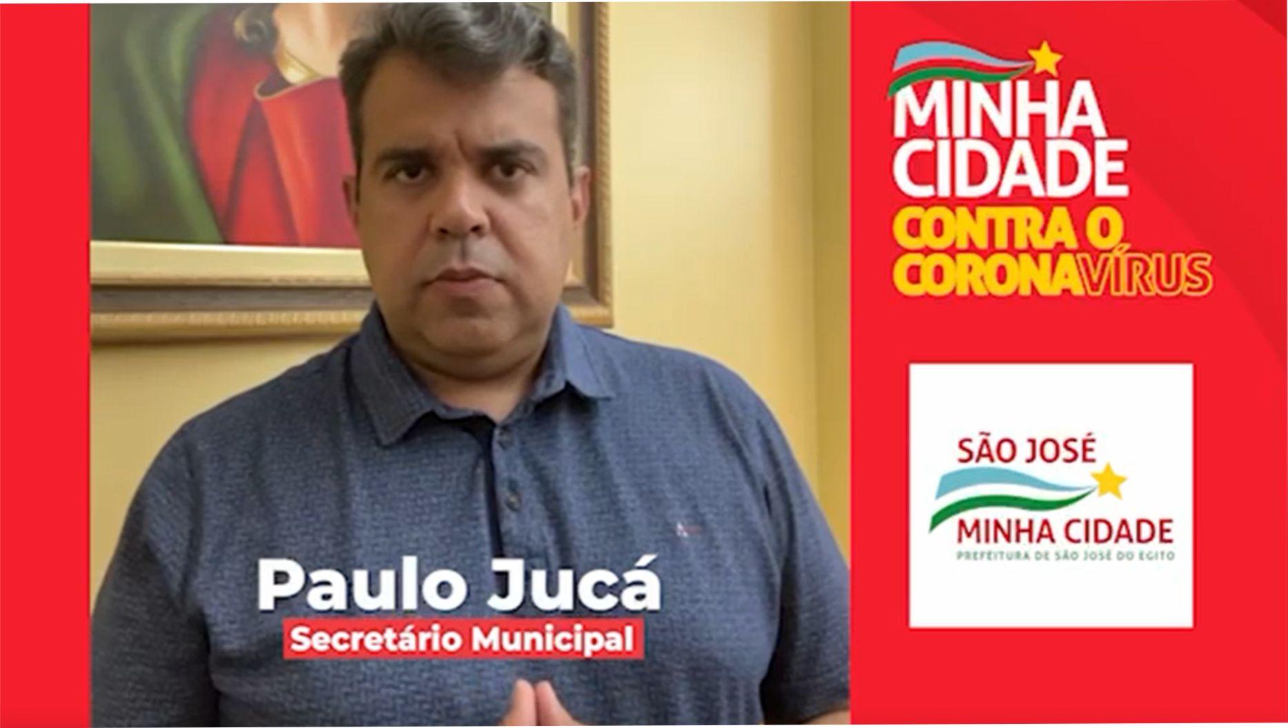 Paulo Jucá anuncia início da vacinação para quem tem 27 anos ou mais em SJE