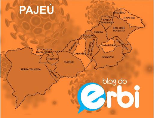 Sem 9 cidades divulgarem boletim no fim de semana, Pajeú tem menos de 1% de casos ativos