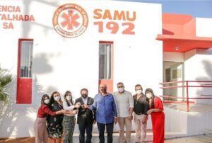 Entregue oficialmente Central de Regulação do SAMU e serviço pode começar a funcionar em menos de um mês