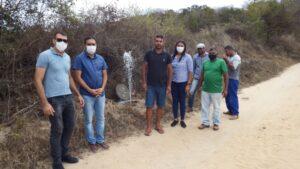 Prefeito de Brejinho vistoriou serviços de reparos em adutora na zona rural