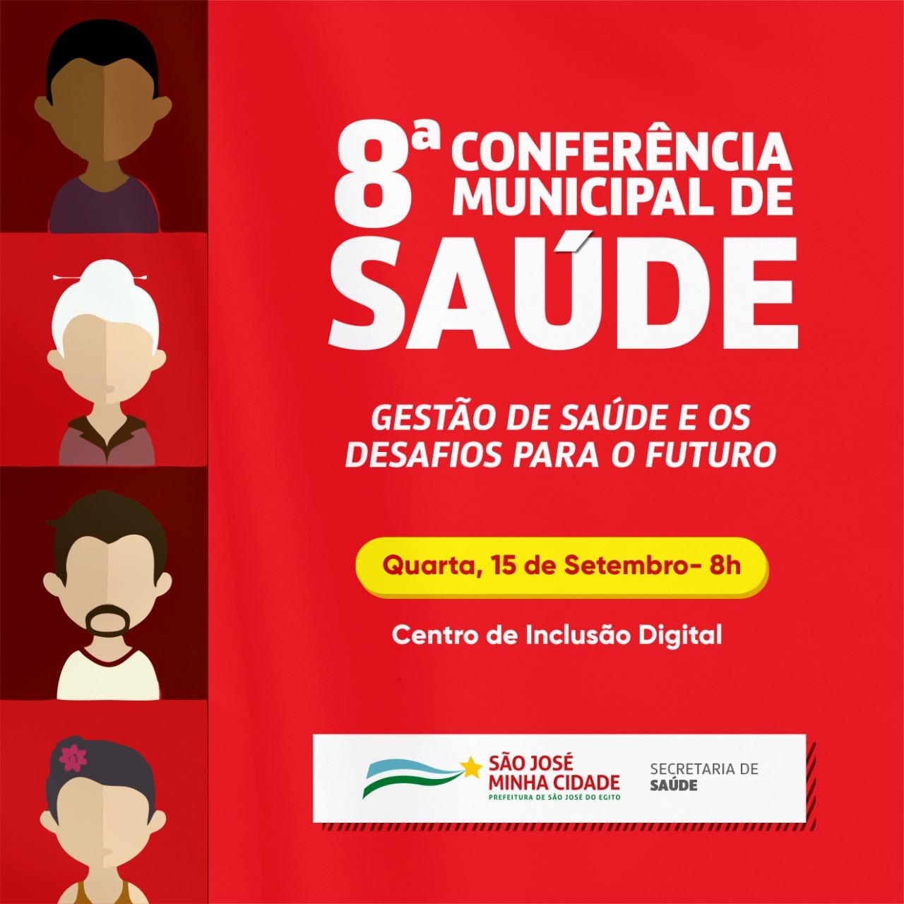 Conferência Municipal de Saúde acontece nesta quarta (15) em SJE