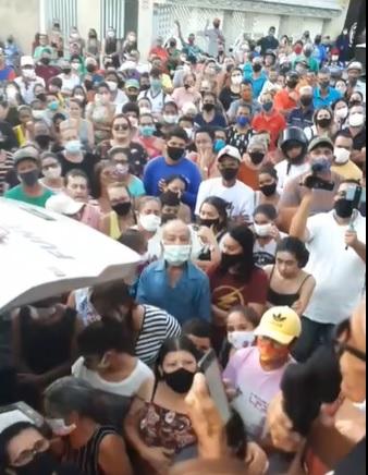 Anchieta Santos teve despedida emocionante em Tabira e corpo deverá ser sepultado no fim da tarde deste sábado (11)