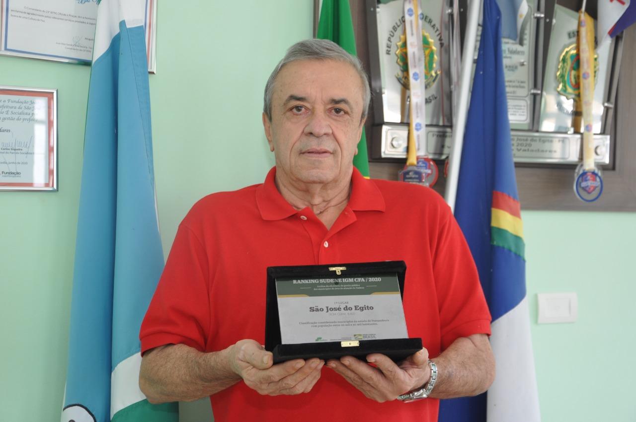 São José do Egito recebe moção de aplauso da ALEPE, por índice de governança da SUDENE